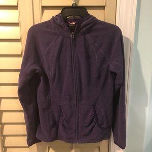 North Face Fleece Full Zip Up Jacket
